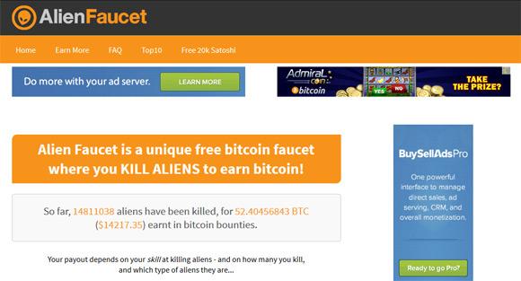 bitcoin-alien-faucet