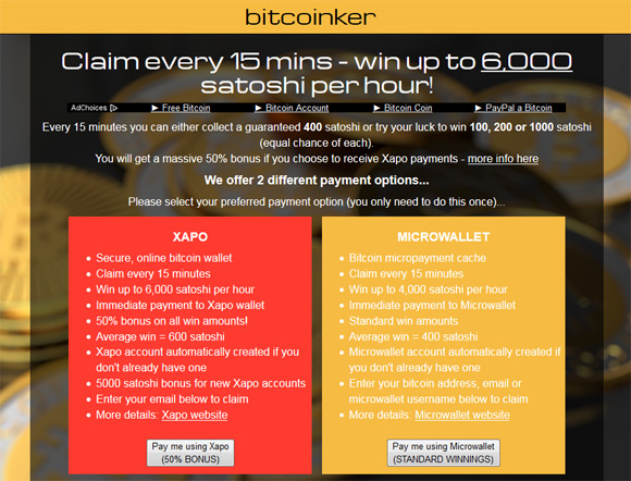 bitcoinker-bitcoin-faucet