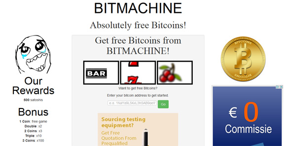 bitmachine-faucet