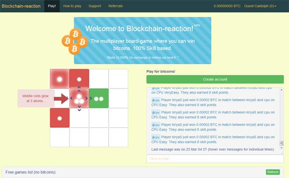 blockchain-reaction-game