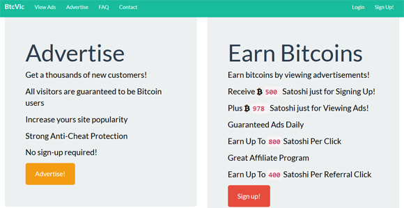 bitcoin pay to click (3) - 1stCrypto com