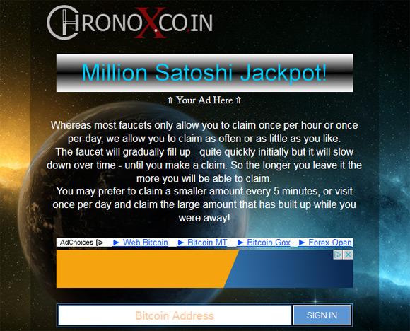 chronoxcoin-bitcoin-faucet
