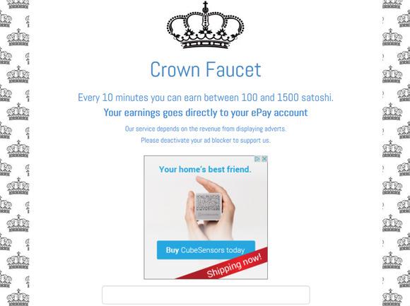 crown-faucet-bitcoin-faucet