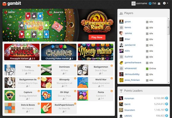 gambit-play-online-games