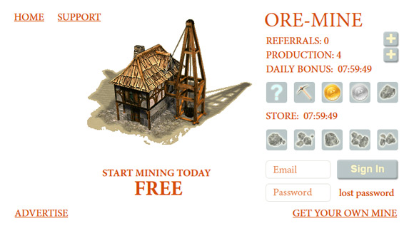 ore-mine-web-game