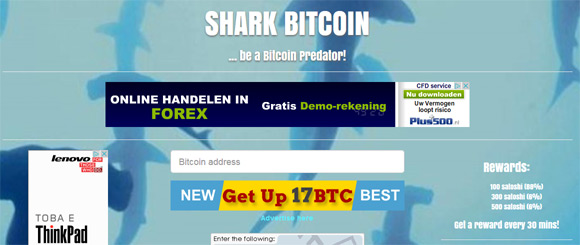 shark-bitcoin-faucet