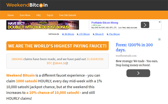 weekend-bitcoin-faucet