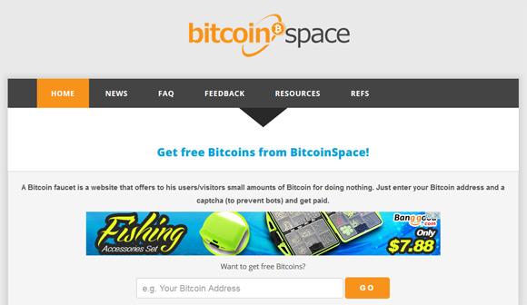 bitcoin-space-faucet