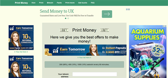 print-money-faucet