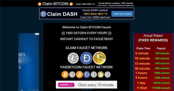 claim-bitcoin-faucet