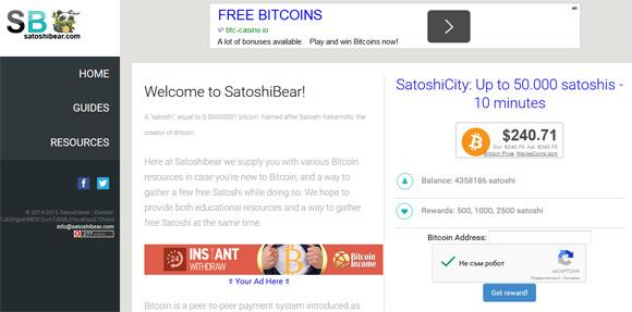 satoshibear-bitcoin-faucet