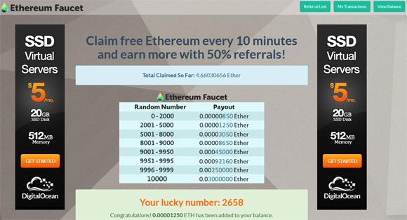 ethereum-faucet-net